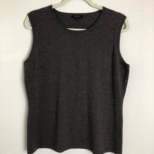 Lafayette 148 New York wool vest / top